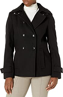 Calvin Klein 女士双排扣短大衣