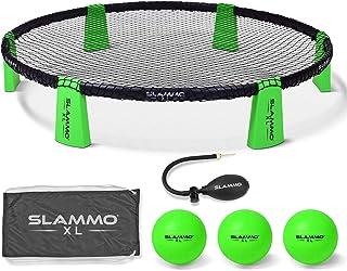GoSports Slammo XL 游戏套装 | 巨大 48 英寸网 | 非常适合初学者、年轻玩家或团体游戏