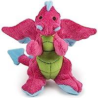 goDog Dragon With Chew Guard Technology Tough Plush Dog Toy…