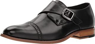 Stacy Adams 男式 Desmond 开普托系带一脚蹬乐福鞋