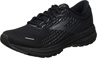 Brooks 缓震系列 男款 Ghost 13 跑鞋, Black/Black, 10 UK Wide