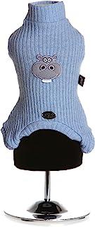 Trilly All Brilli DrusoazzXS Druso 四腿羊毛,保暖,XS,蓝色