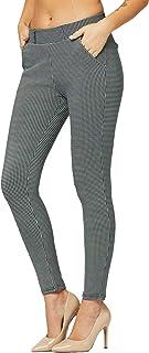 优质女士弹力正装裤 - 上班穿着 - Ponte Treggings