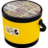 锦化成 收纳箱 箱 米老鼠 圆容器 (S) 黄色