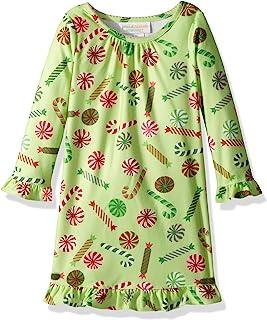 豌豆 & 胡萝卜幼儿女童糖果印花睡裙