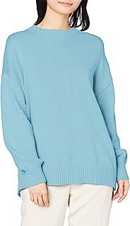 N. Natural Beauty Basic毛衣 后开叉针织衫 女式