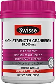 Swisse Ultiboost 高强度蔓越莓补充剂 25,000毫克,100粒软胶囊