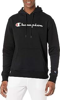 Champion Powerblend 男式贴花连帽衫