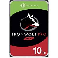 SEAGATE 希捷 IronWolf Pro 10TB NAS 内置硬盘硬盘 - CMR 3.5英寸 SATA 6Gb…