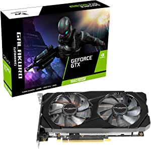 玄人志向 NVIDIA GeForce GTX 1660Super搭载 显卡 6GB Dualian GALAKURO GAMING系列 GG-GTX1660SP-E6GB/DF