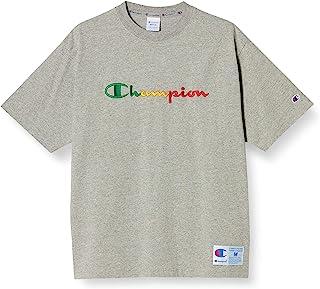 Champion 男士短袖T恤 纯棉 宽松剪裁 非洲领 街头 字母标识刺绣 C3-T323