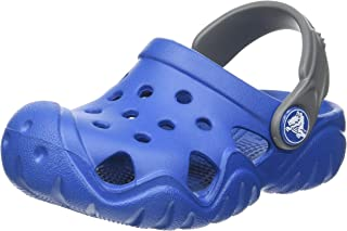 Crocs 卡骆驰 中性儿童Swiftwater Clog凉鞋