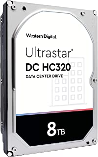 HGST WD Ultrastar DC HC320 8TB 7200 RPM SATA 6Gb/s 3.5 英寸企业硬盘(HUS728T8TALE6L4)
