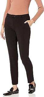 Karl Lagerfeld Paris 女士带腰带长裤
