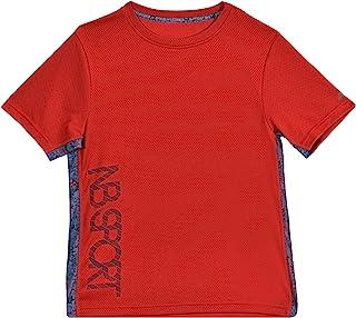 New Balance 男童短袖阳离子T恤
