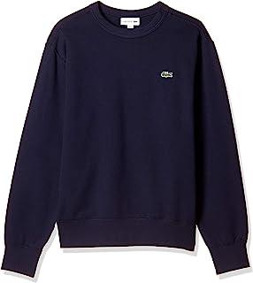 LACOSTE 卫衣 高级棉质圆领衫 [官方] 常规贴身款 男士 SH100EL
