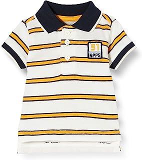 Noppies 男婴 B 常规 Polo Ss Asheville Y/D STR Polo 衫