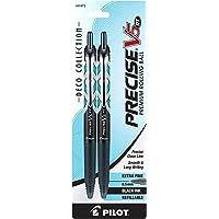 PILOT Precise V5 RT Deco 系列可伸缩滚珠笔,可填充,打磨,十二个盒,红色 (41992) 2 件…