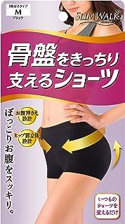 SLIM WALK 支撑骨盘的短裤 M尺寸 黑色