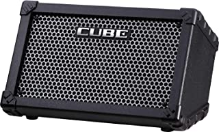 Roland Cube Street 电池供电便携式立体声放大器,黑色