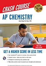AP® Chemistry Crash Course, For the 2020 Exam, Book + Online: Get a Higher Score in Less Time (Advanced Placement (AP) Cra...