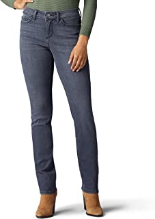 Lee Women's Perfect Fit Grace Straight Leg Jean METRO 8 Perfect Fit Straight Leg Jean