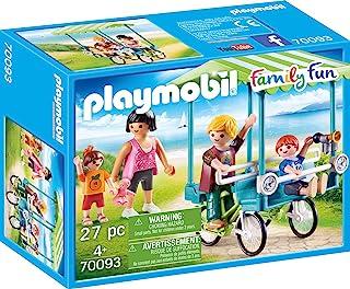 Playmobil 摩比世界 70093 玩具家庭自行车,彩色