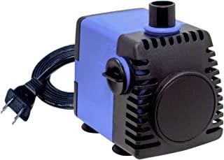 Aqua Dream 210 GPH 潜水泵(800L/H,18W) 超静音可调节水泵,适用于池塘、水族箱、鱼缸、喷泉、水培、雕像 - 1 件
