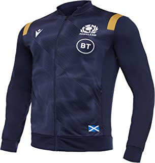 Macron SRU M20 *蓝/金色 SR,Anthem 夹克高级苏格兰橄榄球 2020/21,男士