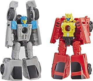 Transformers Generations 变形金刚:Cybertron:Siege Micromaster Wfc-S4 汽车人赛车巡逻队2 件装可动公仔玩具