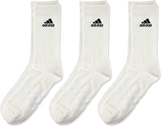 adidas 阿迪达斯 厚底船员袜,3双装