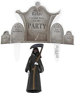 Grim Reaper and Gravestone DecoSet 蛋糕装饰