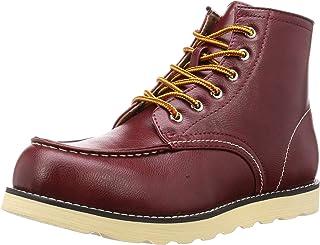 Bracciano 带拉链工作靴 BR-7622 男士