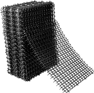 Hmyomina 猫*痕垫带尖头 12 件装防雷垫适用于猫和狗室内外(40.64 X 20.32 厘米,黑色)