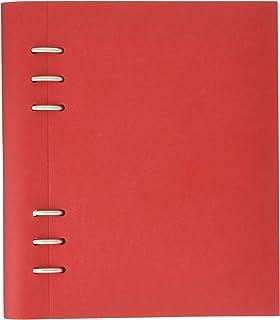 filofax 斐来仕 023615 Clipbook A5 罂粟红 活页多功能记事本 笔记本 活页本日记本 万用手册 手账