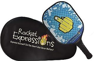 Racket Expressions 有趣的石墨或玻璃纤维匹克球桨