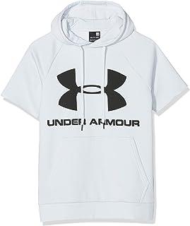 Under Armour Rival Fleece Logo 男式短袖连帽衫