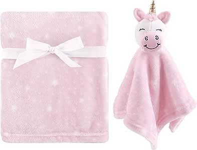 Hudson Baby 毛绒毯和动物*毯套装 独角兽 均码