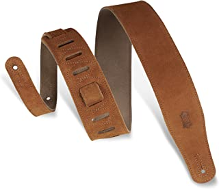 Levy's Leathers MS26 2.5-inch Suede-Leather Strap 蜂蜜