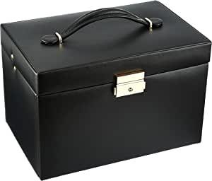 Wolf 280002 Heritage大号珠宝盒,黑色