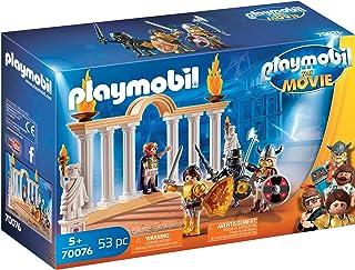 Playmobil 摩比世界THE MOVIE 70076 罗马竞技场里的马克西姆斯皇帝 适合 5 岁以上儿童