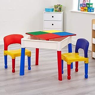 5合1活动桌椅与写字台/乐高/沙/水/存储