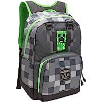 Jinx Minecraft 背包儿童行李箱,44 厘米,灰色
