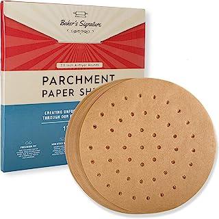 羊皮纸(7.5 英寸空气炸锅 圆形 120 包)