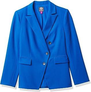 Vince Camuto 女式不对称绉纱外套