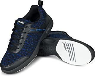 Strikeforce Flyer Mesh Lite 黑色/皇家男士保龄球运动鞋采用 FlexSlide 技术