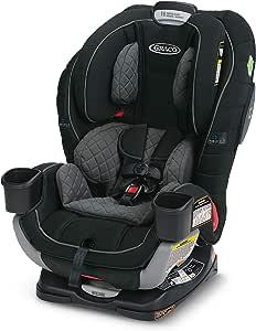Graco Extend2Fit 3合1 儿童汽车座椅| Extend2Fit可使背向乘坐时间更长,拥有TrueShield侧面碰撞技术,Ion