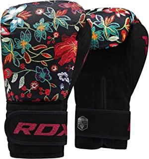 RDX 女士拳击手套凝胶拳击手套拳击袋女士手套训练泰拳