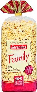 Jeremias Spätzle Family Frischei-Nudeln,4包(4 x 500克/袋)