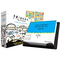 Friends 2021 日历,盒子版套装 - 豪华 2021 朋友日盒装日历,超过 100 张日历贴纸(朋友礼物,办公…